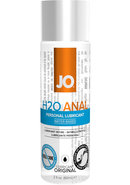 Jo H2o Anal Water Based Lubricant 2 Ounce