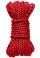 Kink Hogtied Bind And Tie 6mm 30` Red