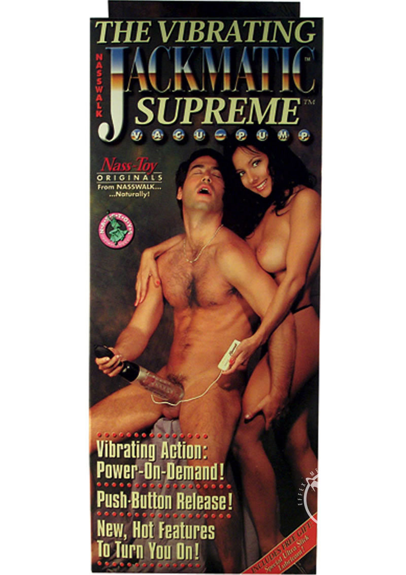 The Vibrating Jackmatic Supreme Pump