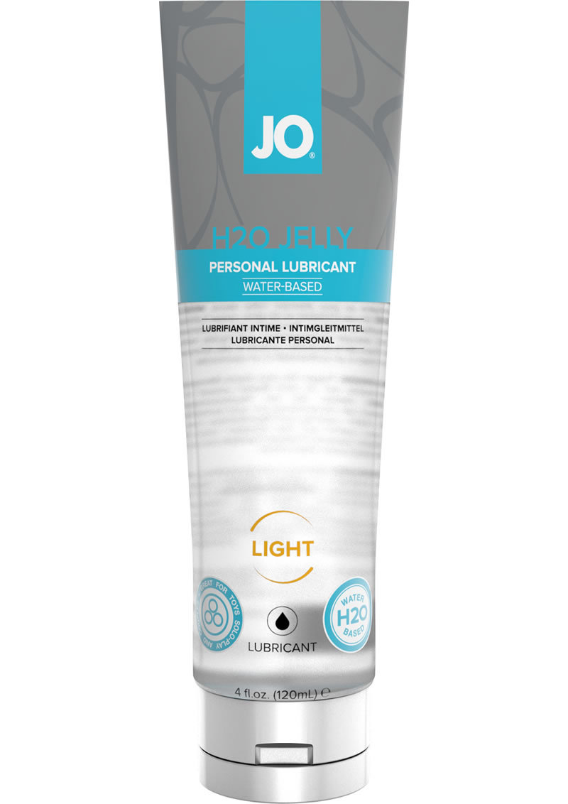 Jo H2o Jelly Light Lube 4 Oz